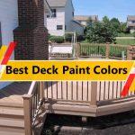 Best Deck Paint Colors
