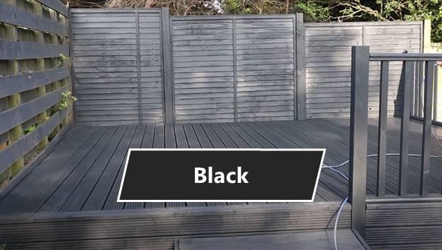 Black Deck Paint