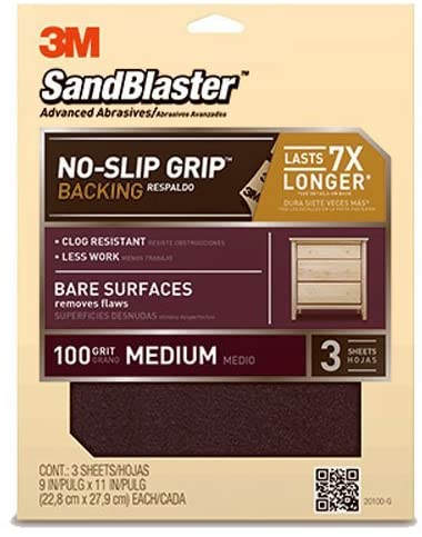 3M SandBlaster – The Ultimate Surfaces Sandpaper