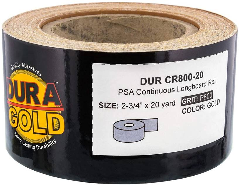 Dura-Gold Premium Longboard Continuous Roll - Best for Automotive and Metalworking