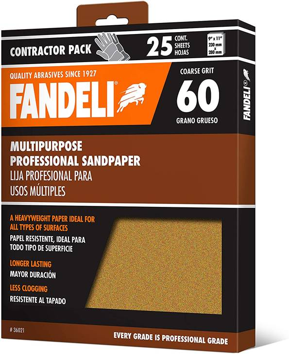 Fandeli 36021 060 Grit – The Multipurpose Sheets