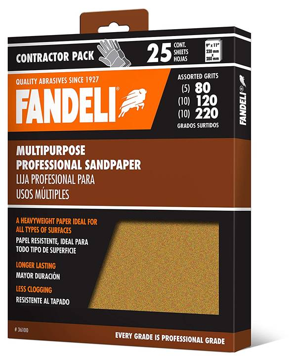 Fandeli Assorted Grits – Best Grit Sandpaper for Wood
