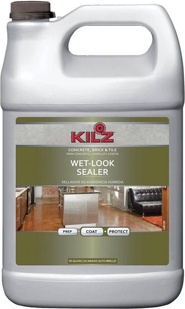 KILZ L390201 Concrete, Brick, and Tile Liquid Masonry Sealer