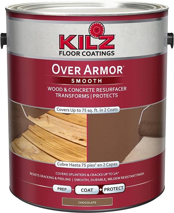 KILZ Over Armor Textured Wood