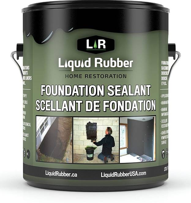 Liquid Rubber Foundation and Basement Sealant
