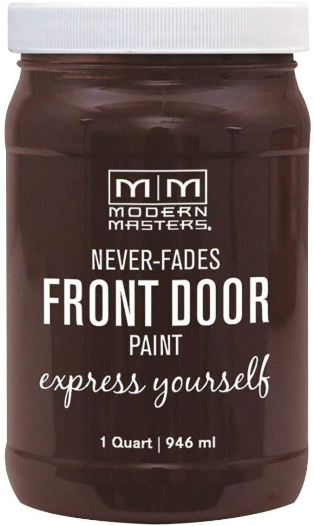 Modern Masters Satin Front Door Paint