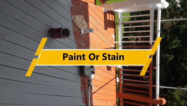 Paint or Stain
