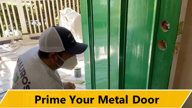 Prime Your Metal Door
