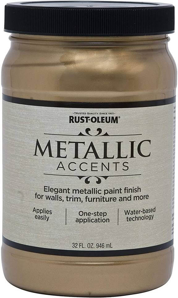 Rust-Oleum 253537 Metallic Accents Paint