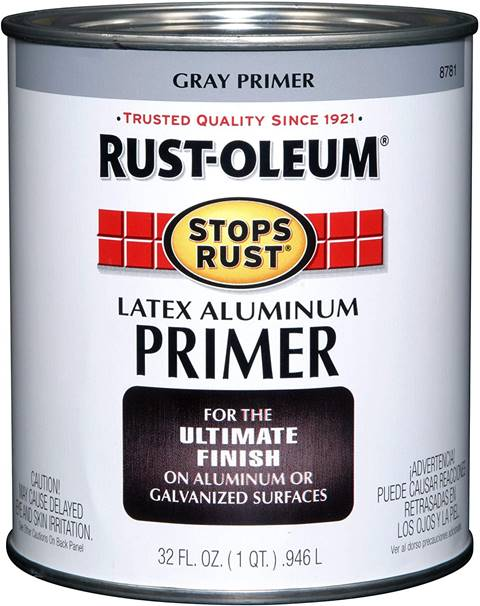 Rust-Oleum 8781502 Stops Rust Flat Aluminum Primer