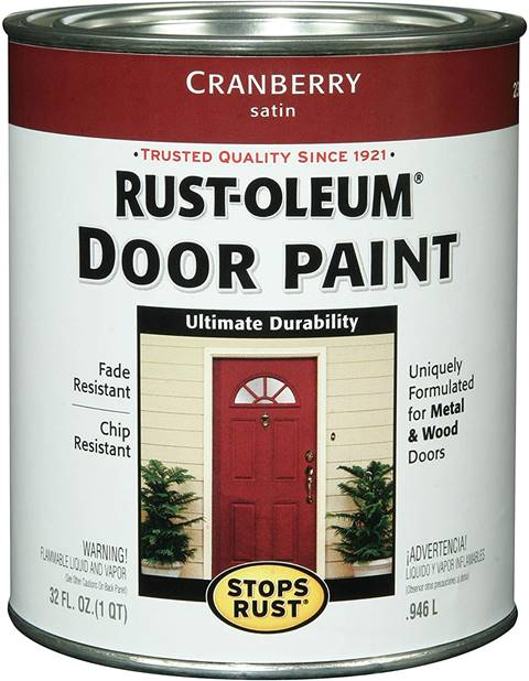 Rust-Oleum, Cranberry Door Paint