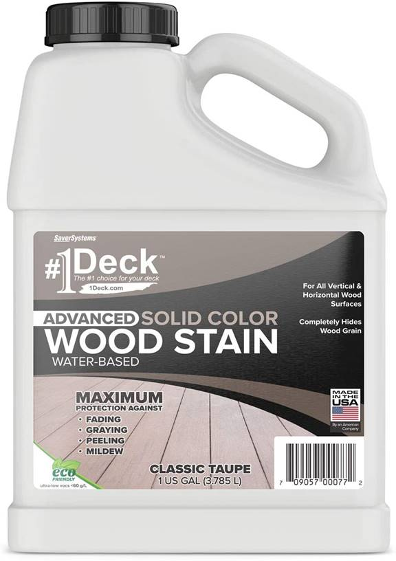 SaverSystems #1 Deck Wood Deck Paint and Sealer