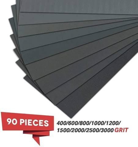 VERONES 400 to 3000 Grit Wet Dry Sandpaper – Best Automotive Sanding