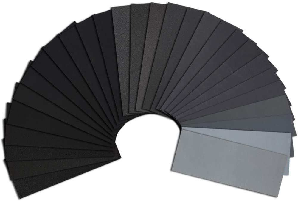 Wet Dry Waterproof Sand Paper – High Grit Metal Sanding