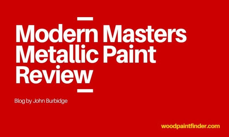 modern masters metallic paint