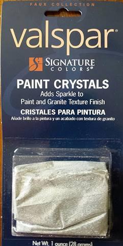 Valspar Interior Glitter Paint for walls